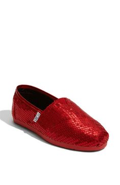 Ruby red glitters