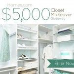 Homes.com $5,000 Closet Makeover Giveaway