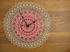 doily clock ~ and furthermore