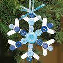Popcicle stick ornaments