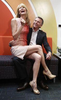 Laura Dern and Sam Neill