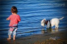 2 mates @ the waters edge - Photo taken by Me.  Sabrina Perri  perri photographi, sabrina perri