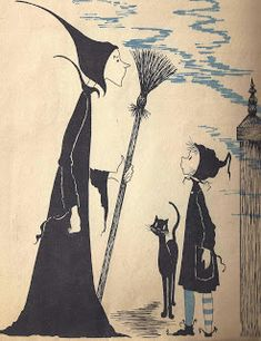 Book Discussion With Myself: Dorrie and the Blue Witch written and illustrated by Patricia Coombs (1964)