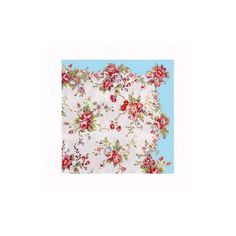 Cath Kidston - Bleached Summer Blossom Paper Napkins found on Polyvore