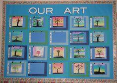 Our Art! #classroom #teacher #education #school