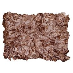 Target Ruffle pillow