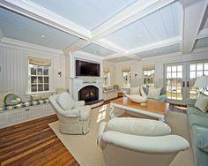beach house design, color design, living rooms, beach cottages, famili room, beach houses, family rooms, live room, window seats