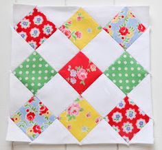 Farmers wife quilt block