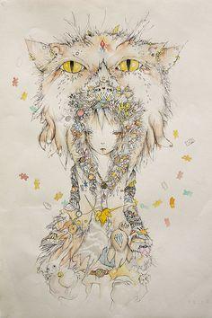 cat shapeshifter by iliamayer