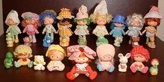 Strawberry Shortcake Dolls...loved my dolls!