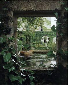 ...a secret pond