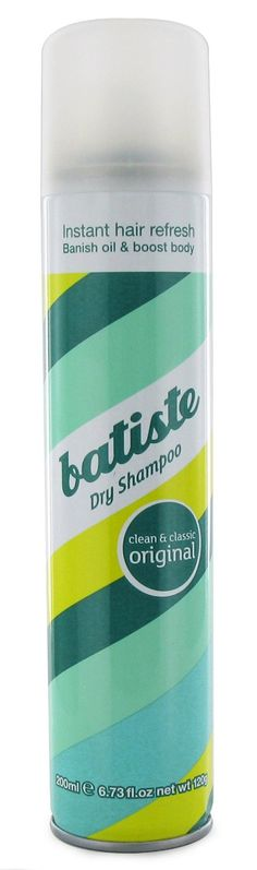 Batiste Dry Shampoo (One of my favourite vegan dry shampoos - see my website for the other - Vegangela.com)