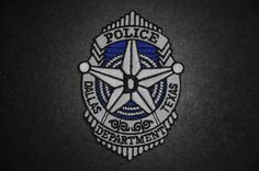 Dallas Police Jacket Patch, Dallas County, Texas