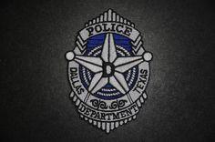 Dallas Police Jacket Patch, Dallas County, Texas