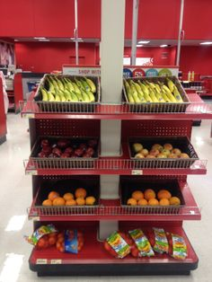 Look at all the fresh fruit at this checkout in Target. If only they all were like this! (Target, Lansing, MI, 4/14)