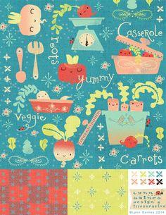 Design for bolt fabric- Lynn Gaines
