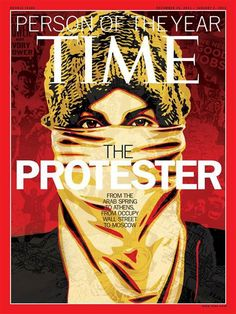 Time Person of the Year 2011 - The Protestor!