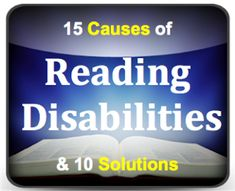 This post is a must-read for any teacher (or parent) who teachers reading or works with struggling readers.  http://www.minds-in-bloom.com/2013/07/reading-disabilities-15-causes-and-10.html
