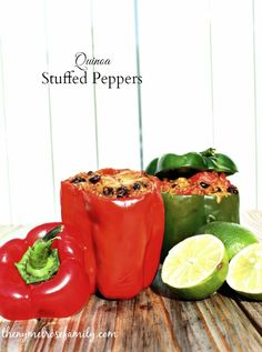 Quinoa Stuffed Peppers | www.thenymelrosefamily.com #quinoa #stuffed_peppers #healthy_recipe