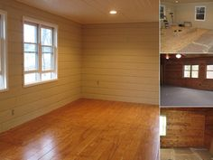 These people made a beautiful floor out of plywood sheets for about $1 per sq. ft.