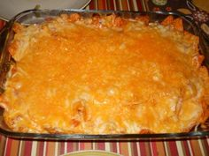 Dorito Chicken Casserole