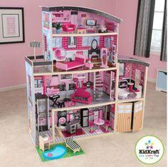 Barbie 4 STORY KIDKRAFT Doll House!