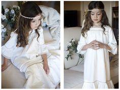 Vestidos de Comunión de Teresa y Leticia