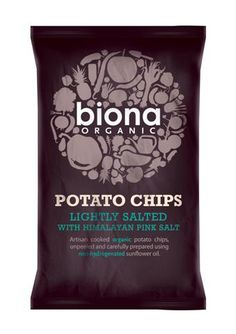 Biona - Biona Organic Potato Chips - love the design
