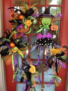 Cute Witch Wreath