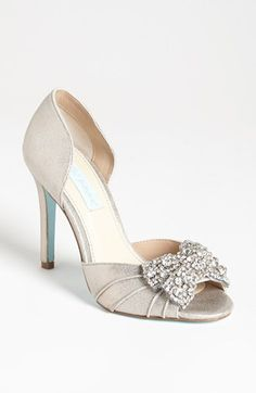 Blue by Betsey Johnson 'Gown' Sandal available at #Nordstrom