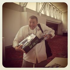 Dwane Lay carrying #swag from the 2012 SHRM Conference