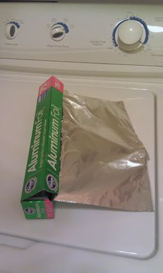 use foil in the dryer instead of dryer sheets