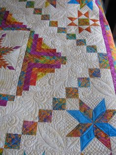 Lots of good custom quilting ideas