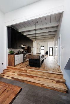 wood floors.