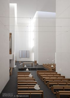 Iesu church by Rafael Moneo.
