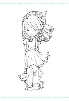 MilkCoffee Digi Stamps: Showcase 'Celine' and freebies