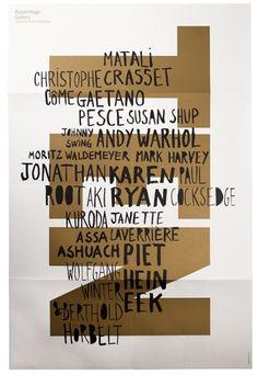 poster / Rabih Hage Gallery / TEN