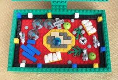 C1 W4 Lego model of plant cell