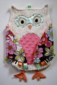 cute owl tag toy!