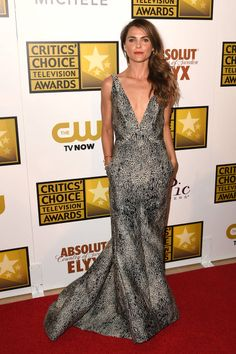 2014 Critics' Choice Television Awards Red Carpet - Keri Russell
