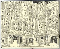 You! Be Inspired! – Sketchbook Drawings by Mattias Adolfsson