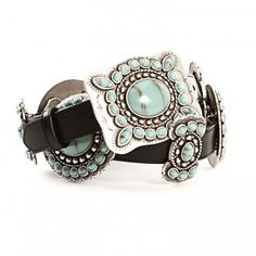 Angel Ranch Turquoise Concho Belt