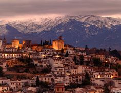 Alhambra, Andalusia, Spain  Would love to visit southern Spain one day