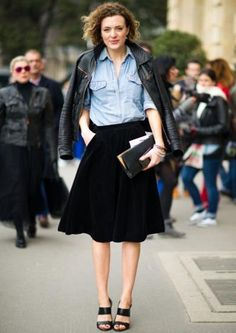 7 Chic Ways to Rock a Midi Skirt | Her Campus