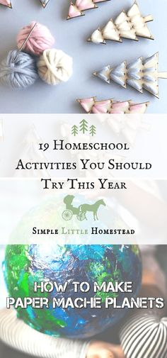 Homeschool Activitie