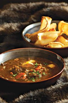 Thick oxtail soup