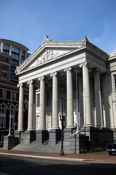 New Orleans - CBD: Gallier Hall