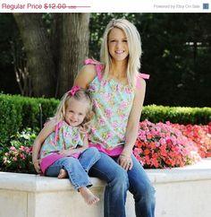 mother/daughter pillowcase pattern