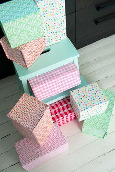 Via Fjeldborg | boxes by rie elise larsen