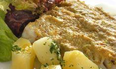 Receta de lomos de bacalao fresco asado al horno con verduras y pistachos. Acompañaremos el pescado con una ensalada de patata.